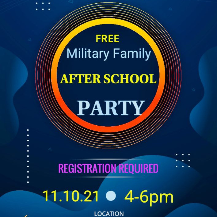 Military Family After School Party