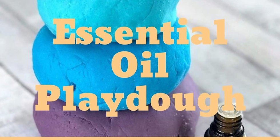 Essential Oil Playdough with Ms. Nicole