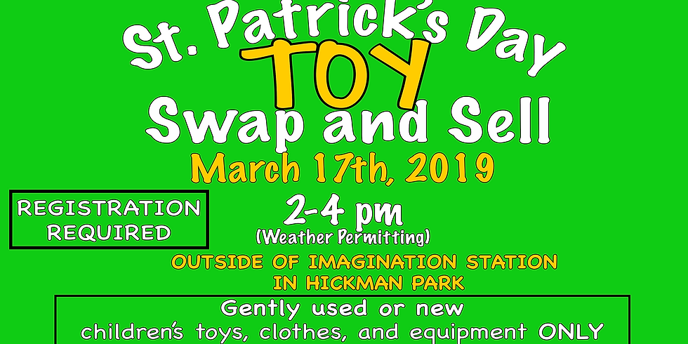 St. Patrick's Day Toy Swap and Sell