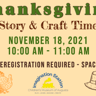 Thanksgiving Story & Craft Time