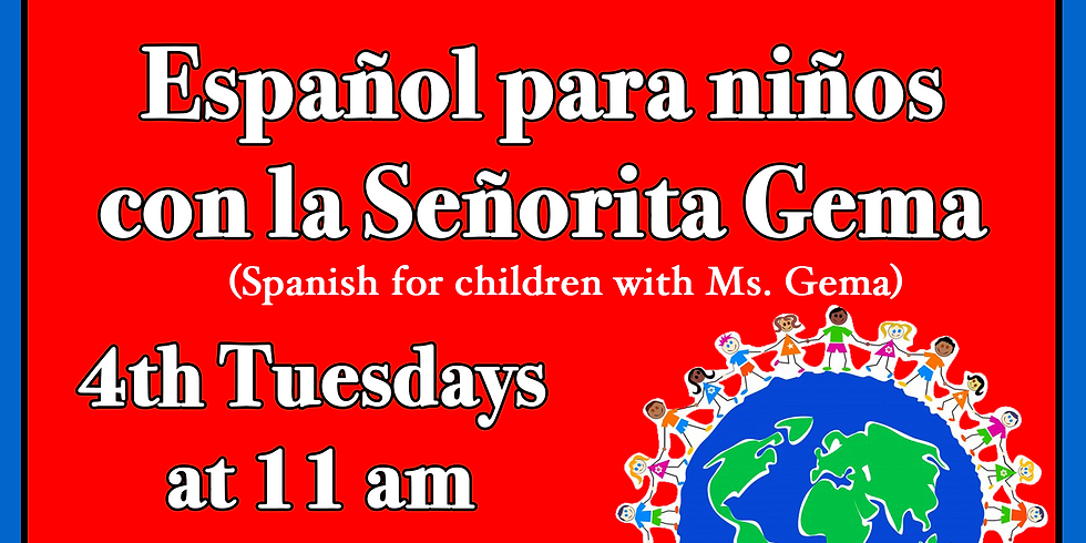 Spanish for Children with Ms. Gema