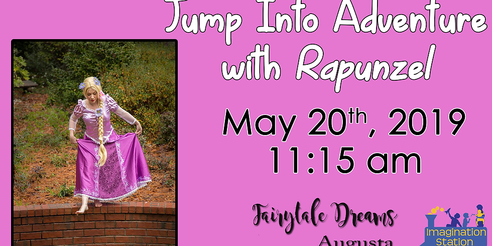 Jump Into Adventure with Rapunzel