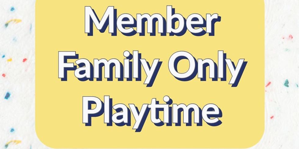 Sept. 16 - 5:00 PM - Member Family Only Session