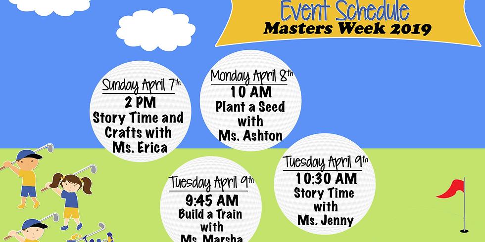 Masters Week 2019 Schedule