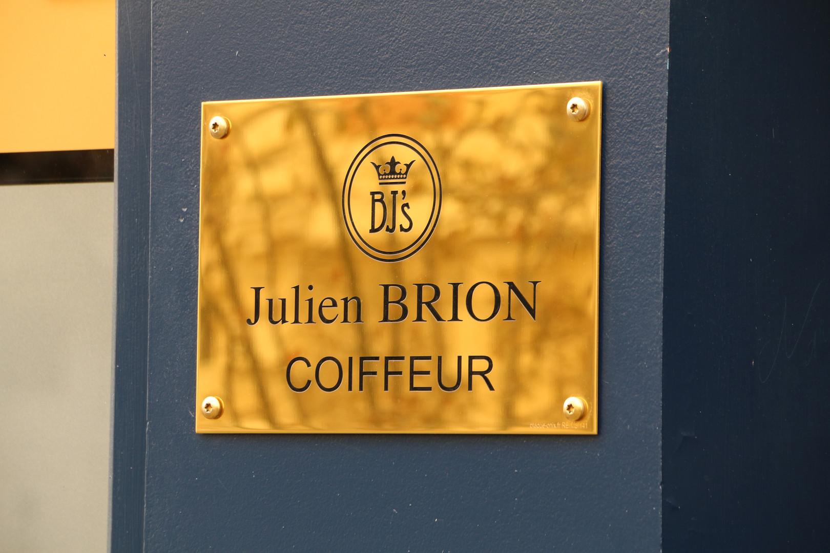 Coiffeur Julien Brion