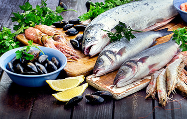As the world's population grows, researchers say the ocean and seafood have big roles to play