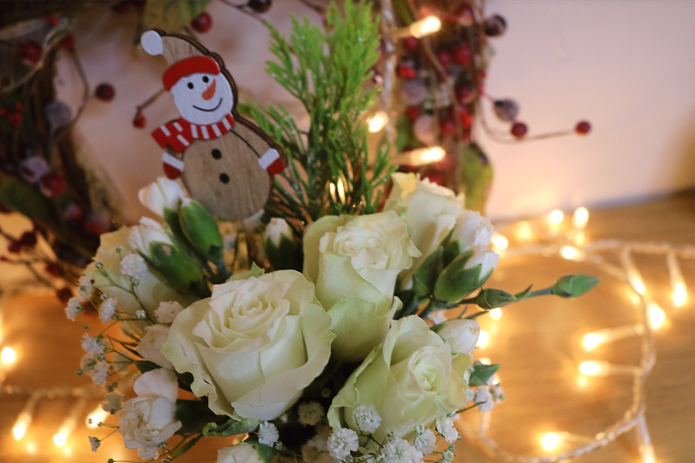 Christmas Flowers Delivery