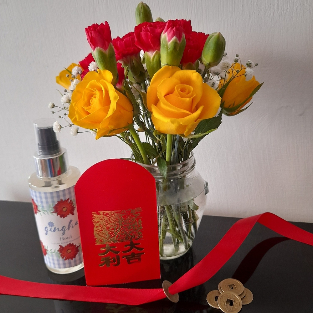 Posy of the Month - Chinese New Year