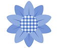 Gingham flower subscription