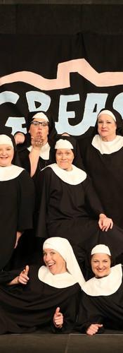 The Cast of Nunsense