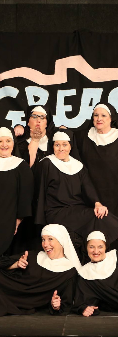 The Cast of Nunsense