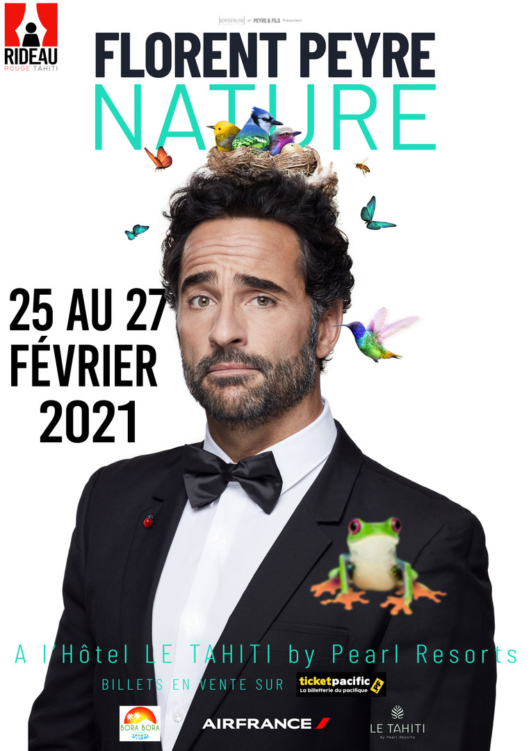 "Florent Peyre "" NATURE"" - TAHITI"