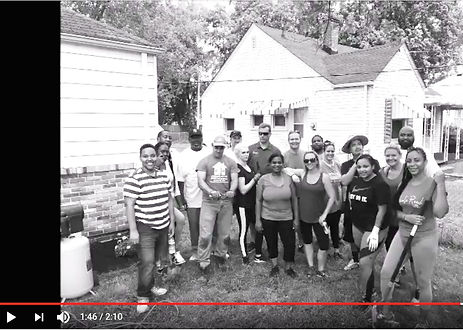 HandUP and Clocktower Realty team for a community project