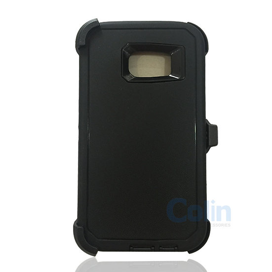 Samsung galaxy S7 Edge hybrid case with clip heavy duty protective holster cover