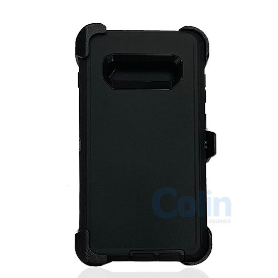 Samsung galaxy S10 hybrid case with clip heavy duty protective holster cover