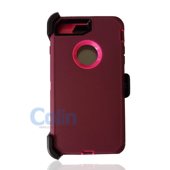 iPhone 7/8 Plus case with clip heavy duty protective kickstand holster cover