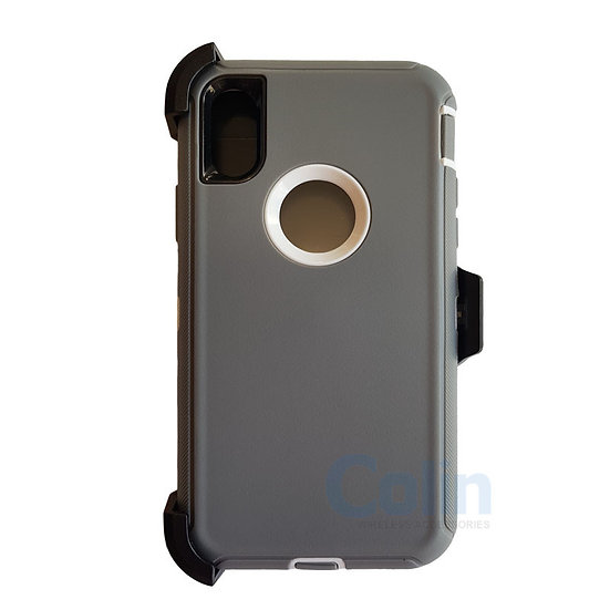 iPhone X & Xs hybrid case with clip heavy duty protective kickstand cover