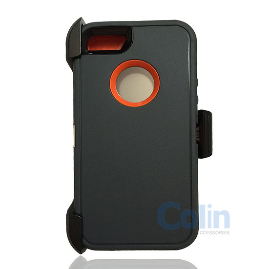iPhone 5/5S hybrid case with clip heavy duty protective kickstand holster cover