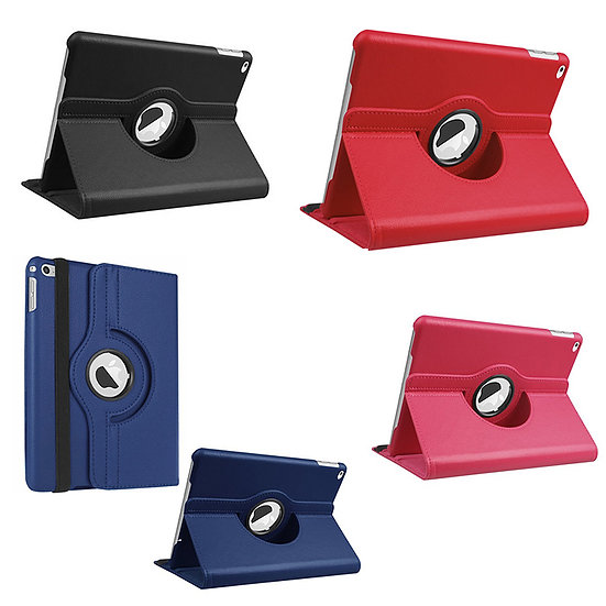 "iPad 5/6 9.7"" 360 degree rotating pu leather case"