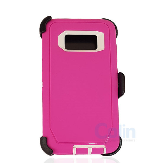 Samsung galaxy S8 hybrid case with clip heavy duty protective holster cover