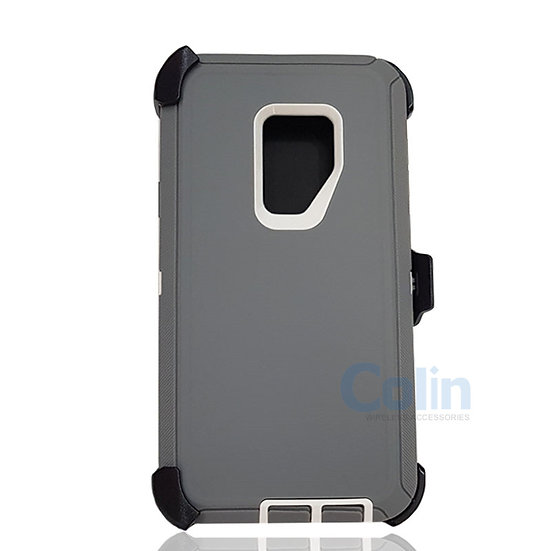 Samsung galaxy S9 Plus hybrid case with clip heavy duty protective holster cover