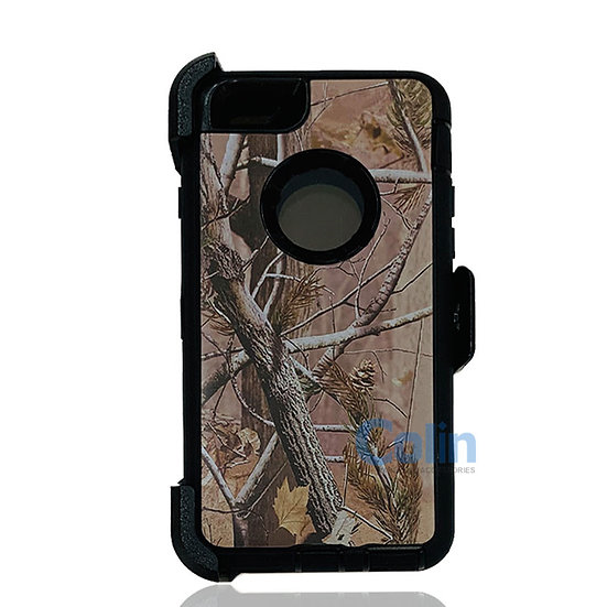 iPhone 6/6S hybrid design case with clip heavy duty holster cover - BLACK TREE