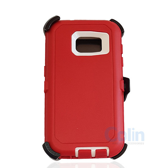 Samsung galaxy S7 hybrid case with clip heavy duty protective holster cover