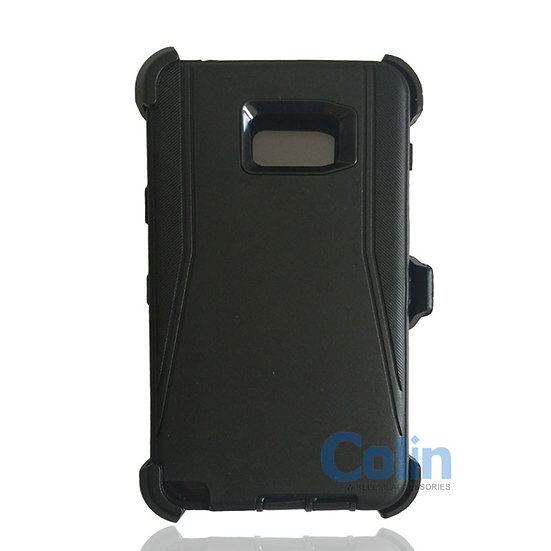 Samsung galaxy Note 5 hybrid case with clip heavy duty protective holster cover