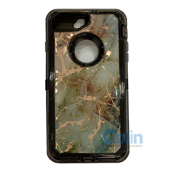 iPhone 6/7/8 Plus marble design heavy duty case
