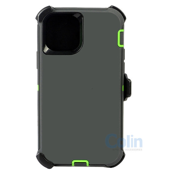 iPhone 12 Mini hybrid case with clip heavy duty kickstand holster cover
