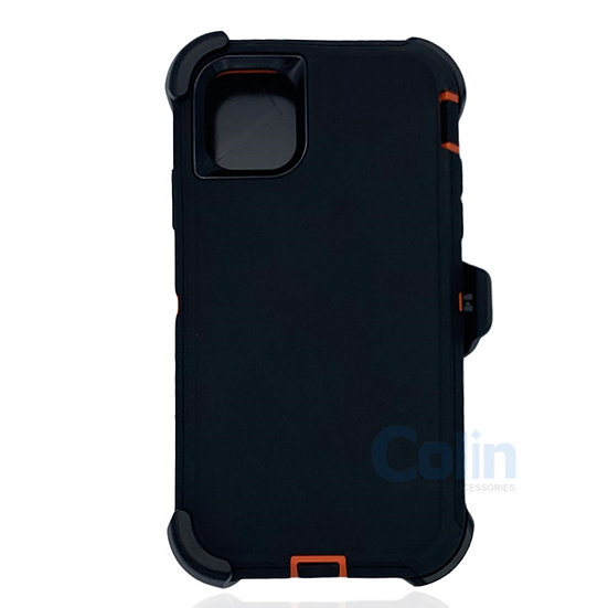 iPhone 11 hybrid case with clip heavy duty protective kickstand holster cover