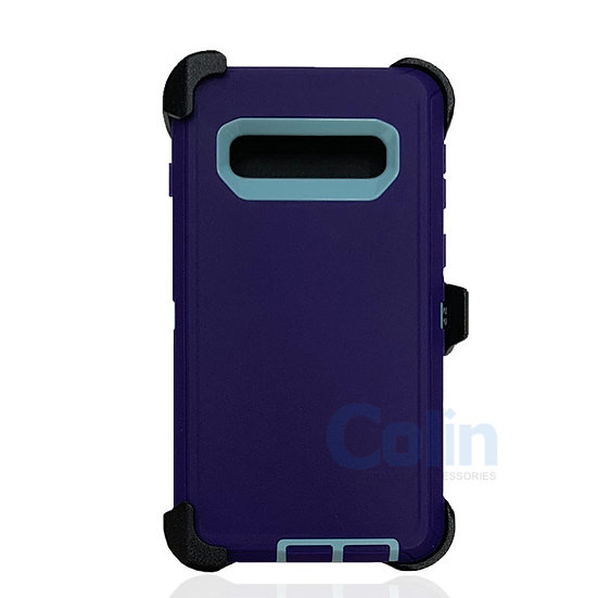 Samsung galaxy S10 Plus case with clip heavy duty protective holster cover