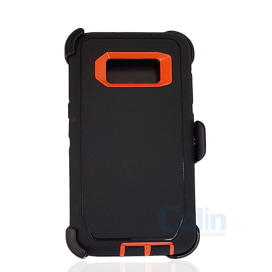 Samsung galaxy S8 Plus hybrid case with clip heavy duty protective holster cover