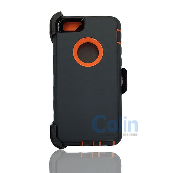 iPhone 6/6S Plus case with clip heavy duty protective kickstand holster cover