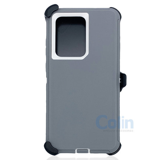 Samsung galaxy S20 Ultra hybrid case with clip heavy duty protective cover