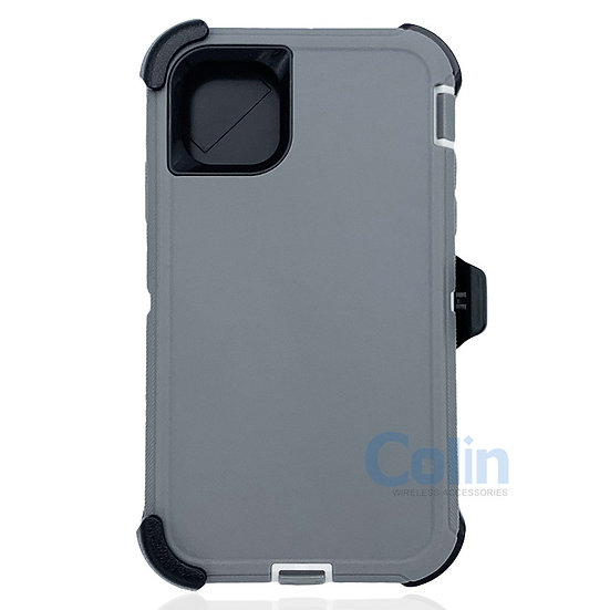 iPhone 11 Pro Max case with clip heavy duty protective kickstand holster cover