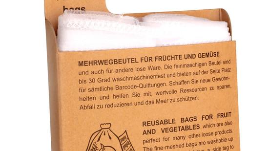 veggiebag - wiederverwendbare Einkaufsbeutel aus rezykliertem PET