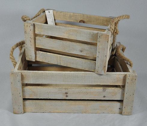 holzboxen aus zedernholz (mit oder ohne deko)
