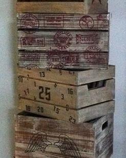 Die kleinste logistische Einheit..eine Kiste