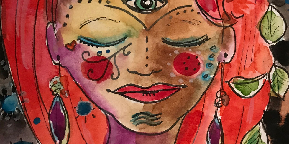 Discover your Inner Goddess w/ Cacao and Art