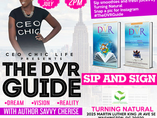 You're Invited: The DVR Guide Sip & Sign