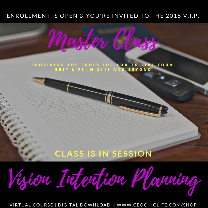 Vision Intention Planning Master Class