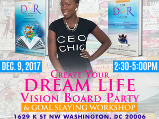 You're Invited: Create Your Dream LifeVision Board Party