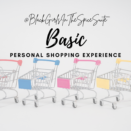 Basic Personal Shopping Experience