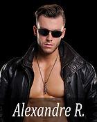 Romance novel cover model