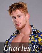 Romance novel covers photos, Red head male model