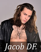 Book cover model. Long hair male model