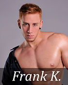 Exclusive images for book covers. Red hair male model