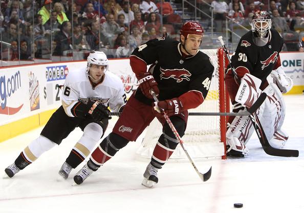 Kurt+Sauer+Anaheim+Ducks+v+Phoenix+Coyot