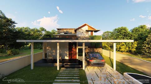 Residence for Mr. Babu